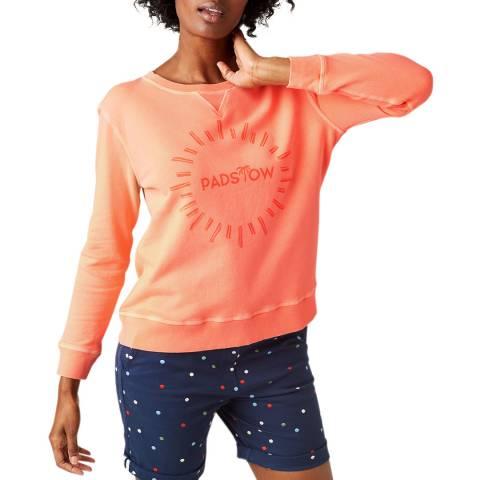 White Stuff Orange Padstow Sweatshirt