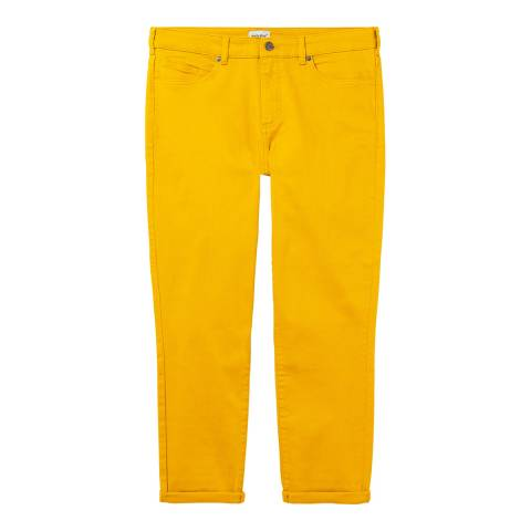 White Stuff Yellow Southern Seas Crops Trousers