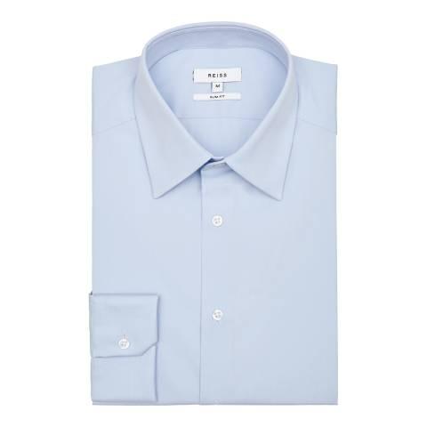 Reiss Light Blue Gianna Formal Slim Shirt