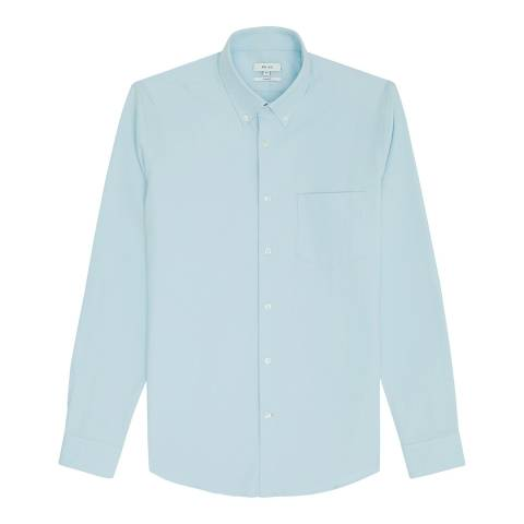 Reiss Blue Ainslee Oxford Slim Shirt