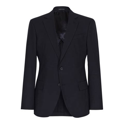 Reiss Navy Proctor Single Breasted Jacket