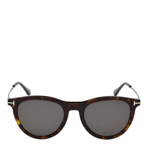 Tom Ford Unisex Brown Tom Ford Sunglasses 53mm