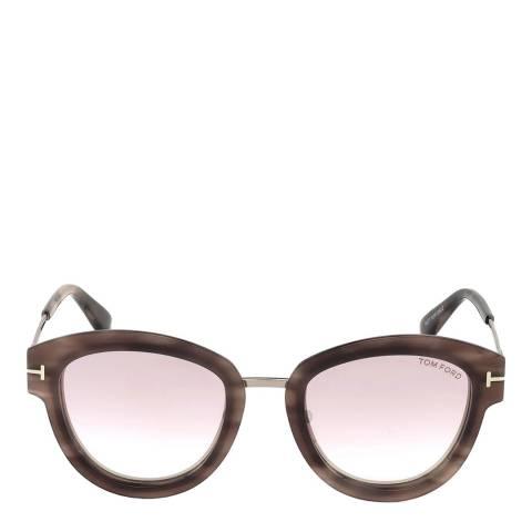 Tom Ford Women's Pink Havana Tom Ford Sunglasses 52mm