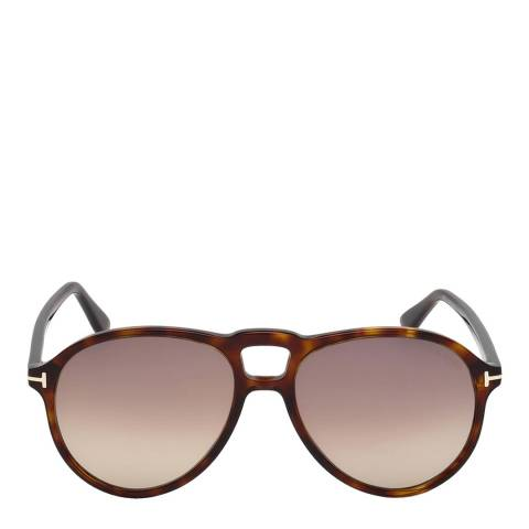 Tom Ford Men's Brown Tom Ford Sunglasses 57mm