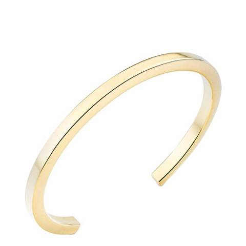 Stephen Oliver 18K Gold Plated Cuff Bangle