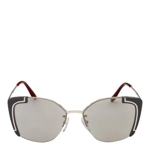 Prada Women's Silver Prada Sunglasses 53mm