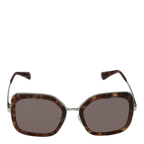 Prada Women's Brown Prada Sunglasses 54mm