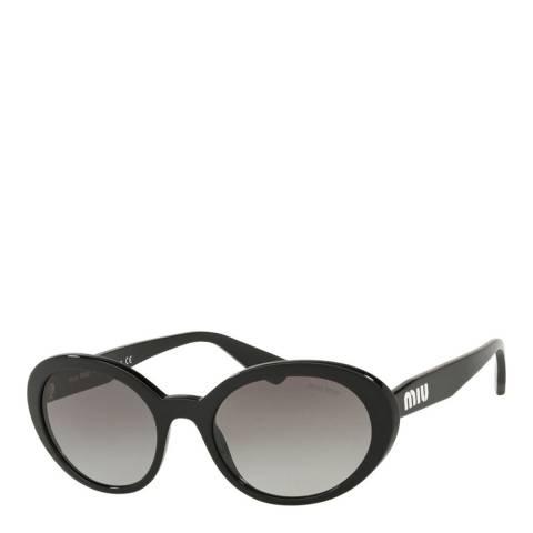 Miu Miu Women's Black Miu Miu Sunglasses 53mm