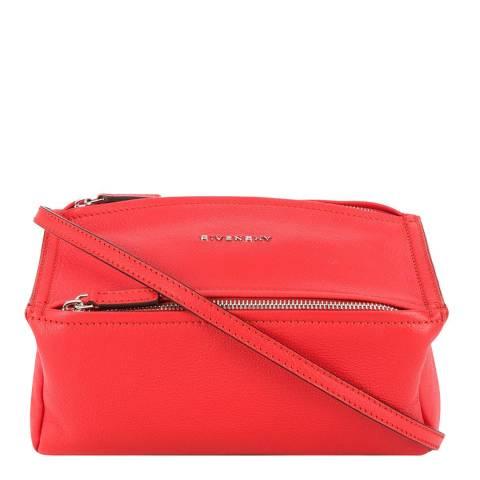 Givenchy Red Pandora Mini Givenchy Shoulder Bag