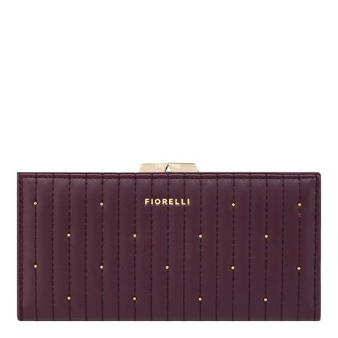 Fiorelli Oxblood Quilted Noah Purse