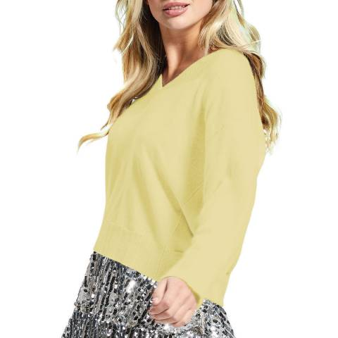 Scott & Scott London Citron Victoria Cashmere Jumper
