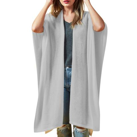 Scott & Scott London Grey Spring Time Cashmere Wrap