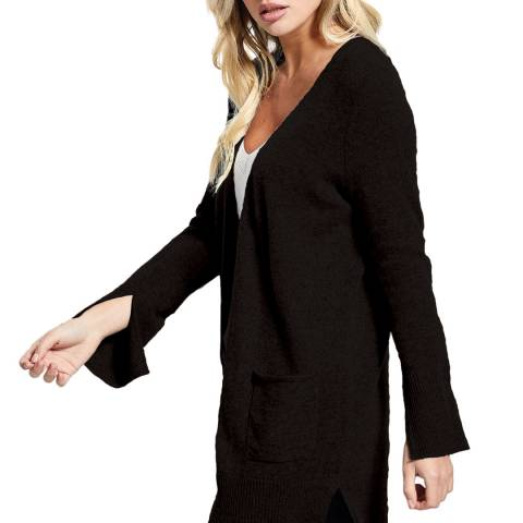 Scott & Scott London Black Girlfriend Cashmere Cardigan