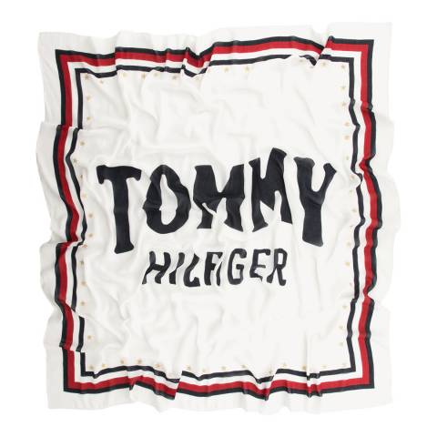 Tommy Hilfiger Bright White BOLD TOMMY SQUARE