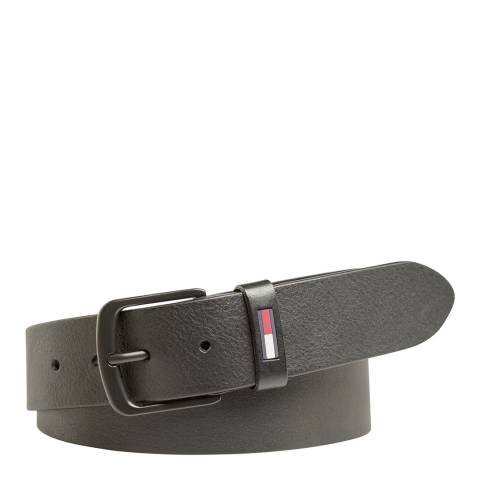 Tommy Hilfiger Black Flag Loop Belt