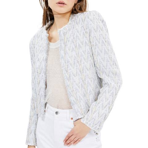 IRO Grey Makilo Jacket