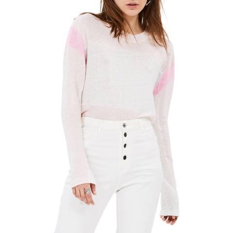 IRO Neutral/Pink Sage Top