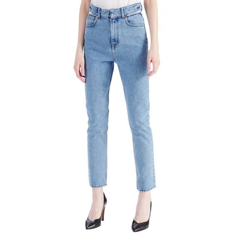 IRO Blue Touro Slim Cotton Jeans