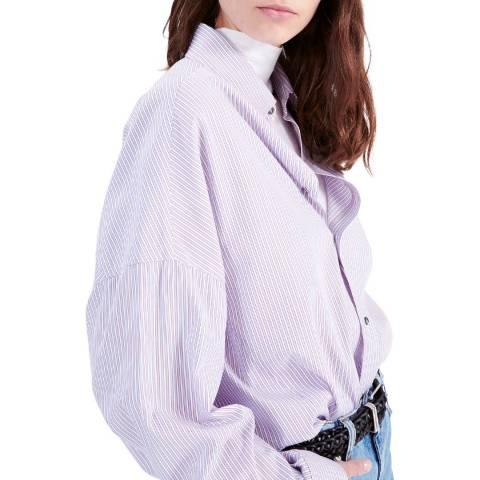IRO White/Multi Album Cotton Shirt