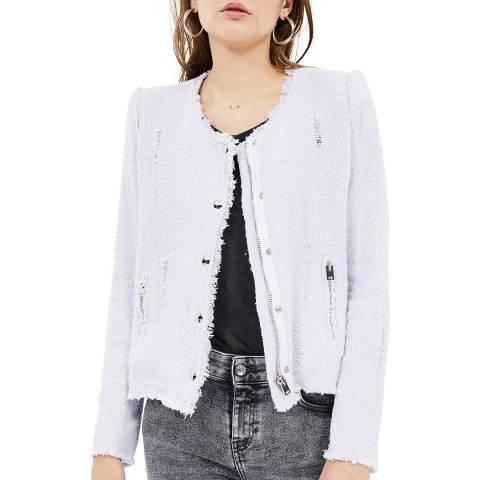 IRO Lilac Agnette Cotton Jacket