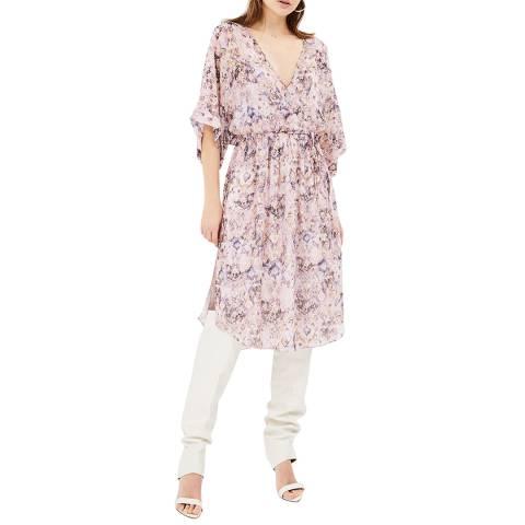 IRO Mauve Petunia Silk Dress