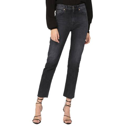 IRO Charcoal Chary Slim Cotton Jeans