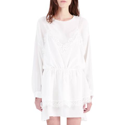 IRO Ecru Hassle Silk Dress