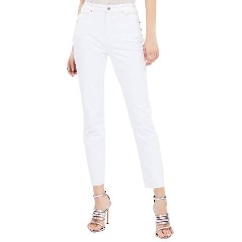 IRO White Fernos Slim Cotton Jeans
