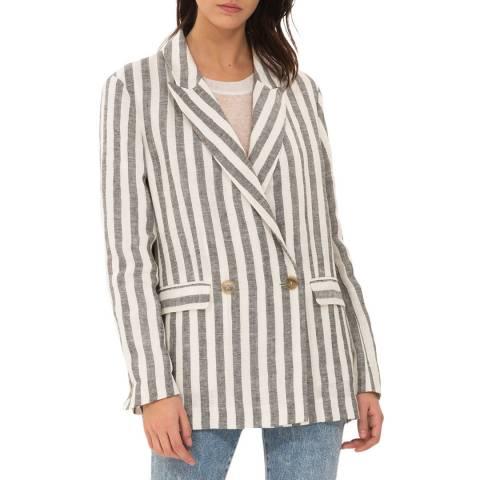 IRO White/Grey Sailorr Linen Jacket