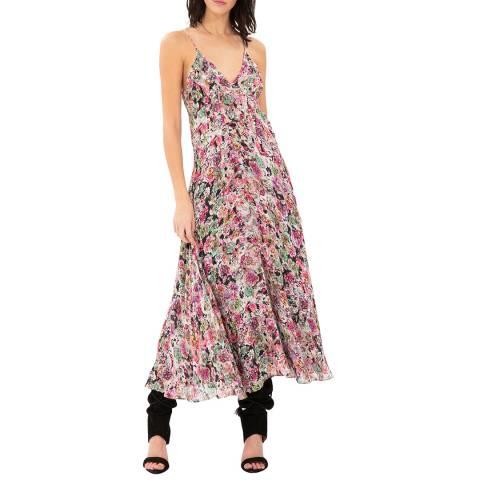 IRO Pink/Multi Severn Dress