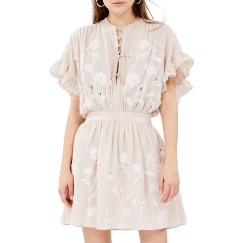 IRO Nude Kauri Cotton Dress