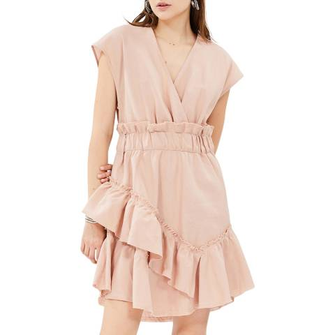 IRO Nude Billow Dress
