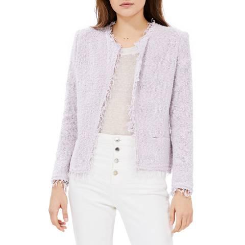 IRO Lilac Shivani Cotton Blend Jacket