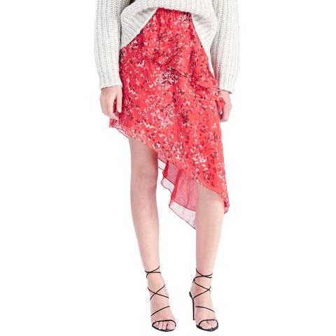 IRO Red Blink Skirt