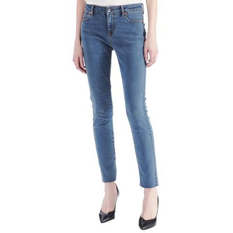 IRO Blue Mistery Slim Stretch Jeans