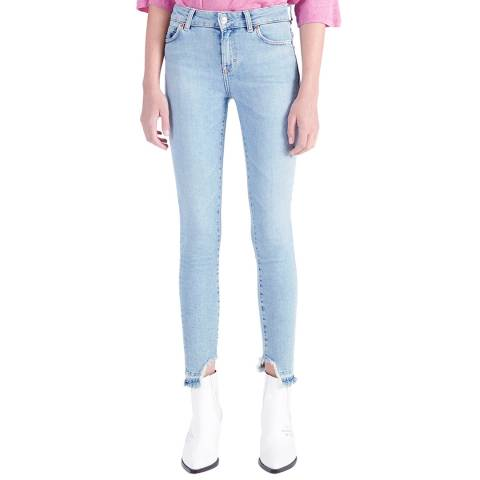 IRO Light Blue Nevermind Skinny Stretch Jeans