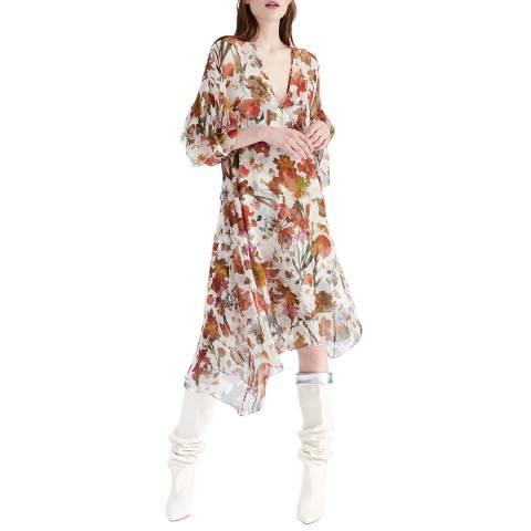 IRO Beige/Multi Something Silk Dress