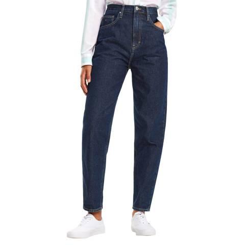 Tommy Hilfiger Indigo Tapered Cotton Jeans