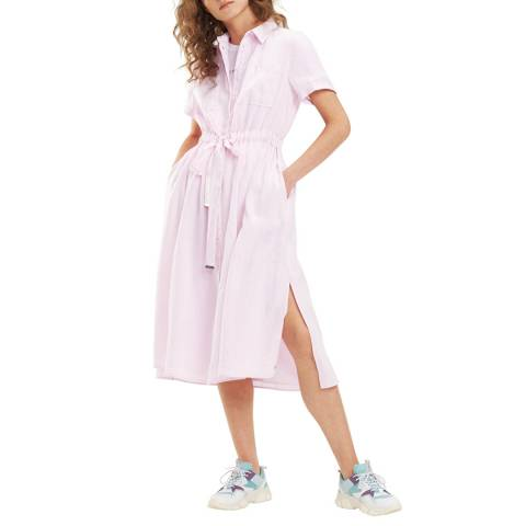 Tommy Hilfiger Pink Dakota Linen Dress