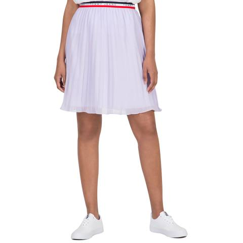 Tommy Hilfiger Lilac Pleated Skirt