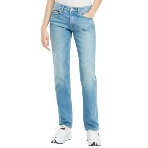 Tommy Hilfiger Blue Straight Stretch Jeans