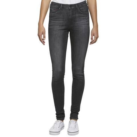 Tommy Hilfiger Black Super Skinny Stretch Jeans