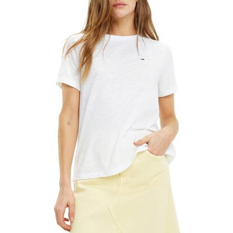 Tommy Hilfiger White Summer Classic T-Shirt