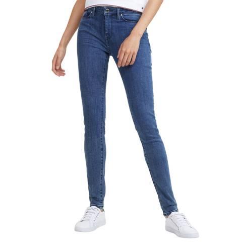 Tommy Hilfiger Dark Blue Como Skinny Stretch Jeans