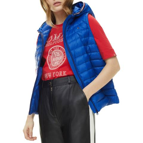 Tommy Hilfiger Blue Classic Down Pack Quilted Gilet