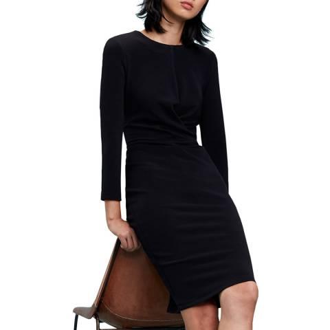 Tommy Hilfiger Black Wrap Slim Dress