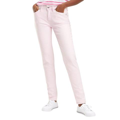 Tommy Hilfiger Light Pink Venice Slim Stretch Jeans