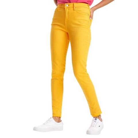 Tommy Hilfiger Yellow Nora Skinny Stretch Jeans