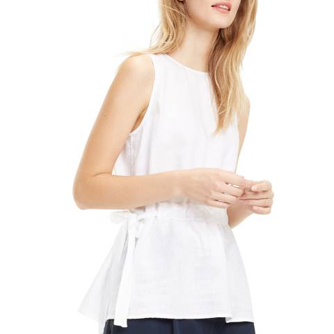 Tommy Hilfiger White Dakota Linen Top