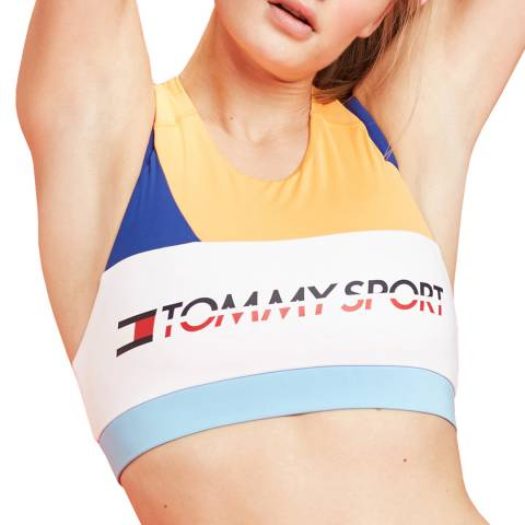 Tommy Hilfiger Multi Logo Sports Bra